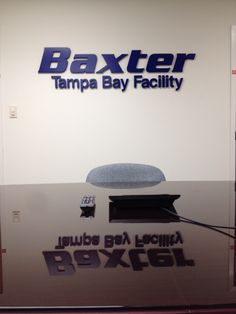 Custom dimensional letters for one of our corporate customers