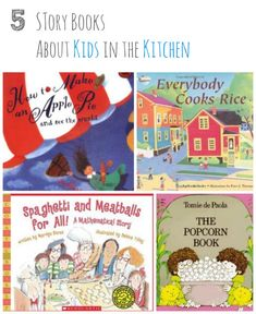 Here are some inspiring story books to read to (or with) your child that feature kids playing an active role in the cooking process, or expl...