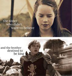 La hermana que no quería creer...Y el hermano destinado a ser rey.