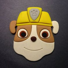 6 Paw Patrol Inspired Cupcake Toppers 6 Badges By