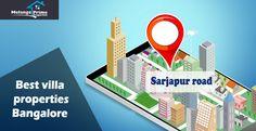 Row Villas in bangalore sarjapur road -Melange Prime Properties