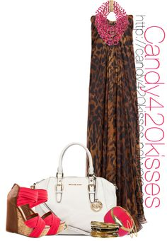 """""""Maxi Dress"""" by candy420kisses on Polyvore"""