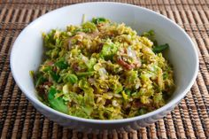 Brussels Sprouts with Bacon & Lemon