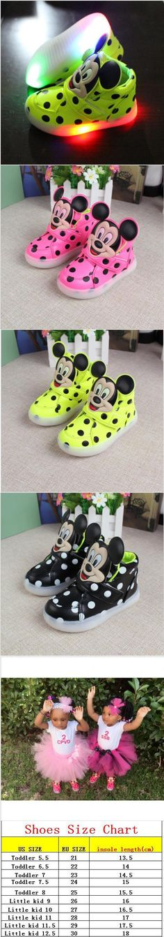 2016 European fashion cute LED lighting children shoes hot sales Lovely kids sneakers high quality cool boy girls boots