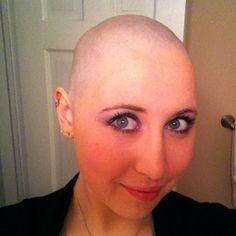 Shaved me bald