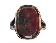 1880-90s Victorian Red Agate Signet Ring (in the online shop tomorrow)