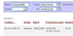 """I WORK FROM HOME less than 10 minutes and I manage to cover my LOW SALARY INCOME. If you are a PASSIVE INCOME SEEKER, then AdClickXpress (Ad Click Xpress) is the best ONLINE OPPORTUNITY for you."" http://www.adclickxpress.com/?r=tnx25htcpt&p=mx http://www.adclickxpress.com"