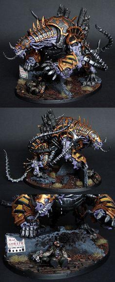Iron Warriors Maulerfiend #1
