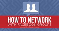How to Network With Facebook Groups - @DinamikaSOE