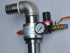 BIO DIESEL 55 GALLON DRUM BARREL DIESEL OIL PUMP AIR PRESSURE OPERATED