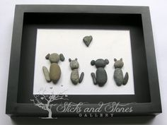 Veterinarian Gift- Vet Thanks Gift- Animal Lover Gifts - Animal Themed Stone Art -Pebble Art - Unique Animal Lover Gifts -Animal Lover Gift by SticksnStone on Etsy