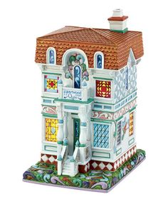 Look what I found on #zulily! 'Heartwood Creek Quilts' Lit Village Figurine by Jim Shore #zulilyfinds