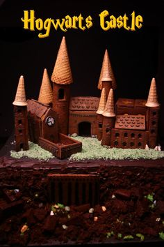 Build your Hogwarts and eat it, too.