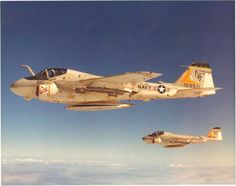 A-6E Intruders of the US Navy
