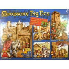 Rio Grande Games Carcassonne Big Box  #Games