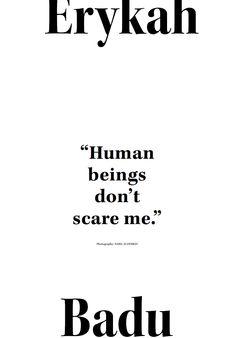human beings