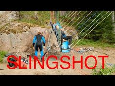 (38) World´s First Homemade Human Slingshot - YouTube