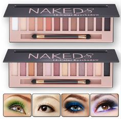 These color palettes are just perfect, with mild colors for work and day wear along with bold colors for a night on the town.*Great combination of matte and shimmer eyeshadows. *The colors are highly pigmented