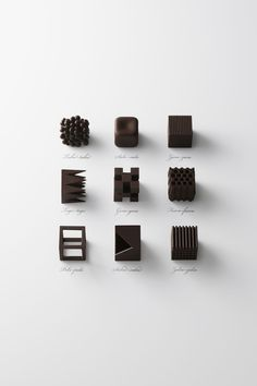 Chocolats japonais | MilK decoration