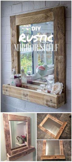 Tres Jolie DIY Pallet Mirror