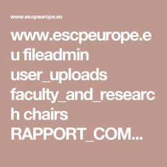 www.escpeurope.eu fileadmin user_uploads faculty_and_research chairs RAPPORT_COMMERCE_2013.pdf