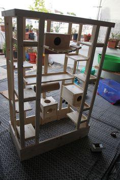 nagervoliere woody natur hamsterk fig m usek fig kleintierk fig rattenk fig derschwarzemann24. Black Bedroom Furniture Sets. Home Design Ideas