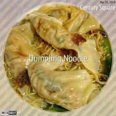 Dumpling noodle soup Visit Singapore, Singapore Food, Dumpling, Noodle Soup, The Dish, Noodles, Special Occasion, Spicy, Cabbage