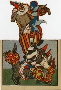 Clown and dogs | Flickr - Photo Sharing!