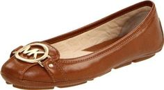 adc29f28295b Michael Michael Kors Women's Fulton Ballet Flat,Luggage Leather,8 M US