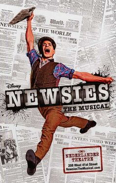 Newsies (Broadway) Movie Posters From Movie Poster Shop
