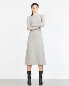 Image 1 of LONG MINIMAL DRESS from Zara
