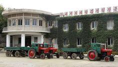 North Korea - Chonsam - Collective farming.