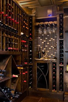Gorgeous wine room idea from Notion in Pittsburgh