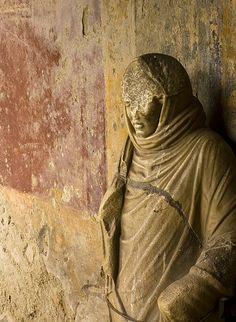 Statue at Pompeii Italy