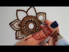 Henna Palm Design #2 - YouTube