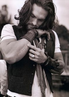 Lúomo Vogue Magazine Pictures from Topanga Canyon Stories from the Road Jason Momoa & Lisa Bonet