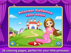It's time to paint and dance!!! Princess ballerina color salon was just released  With 36 princess and ballet themed images and beautiful Bach's classical music soundtrack for inspiration and creativity (Special bonus- ballet class themed images to Learn, color and draw!)  https://itunes.apple.com/us/app/princess-ballerina-color-salon/id809996788?mt=8&uo=4&at=10l7cP