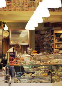 Cozy cafeteria in Verona, Italy by @brigitadaisy