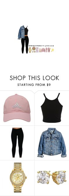 """Untitled #49"" by realcrazyshelle ❤ liked on Polyvore featuring adidas Golf, Miss Selfridge, H&M and Bulova"