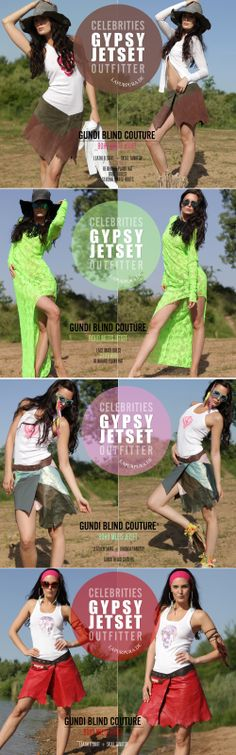 Leather Miniskirt and Maxidress for Summer Lovers (Gypsy Jetsetter) by Gundi Blind Couture.  #GundiBlind #Boho #Chic #Festival #Lover #Beach #MiniSkirt #Maxidress #Travelers #Gypset #RichHippie #Dubai #Ibiza #SaintTropez #Mauritius