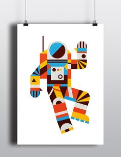 Hello Spaceman Poster