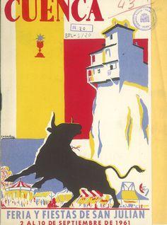 San Julián 1961 Programa oficial de la Feria y Fiestas de San Julián 1961 Se celebra el I Concurso de Embellecimiento de Barrios