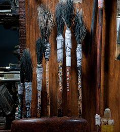 Ron Pippin- installation detail