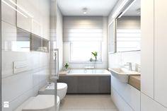 Projekt mieszkania 3 - Łazienka, styl nowoczesny - zdjęcie od BAGUA Pracownia Architektury Wnętrz