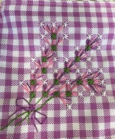 5af6d0ff0ebec4d24cb30197b6dfbcde_1558122553_624196 Basic Embroidery Stitches, Hand Embroidery Patterns, Diy Embroidery, Chicken Scratch Patterns, Chicken Scratch Embroidery, Chain Stitch, Cross Stitch, Swedish Weaving, Needlework
