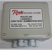 540 Junction Box Connection for 1 indicator and 4 loadcells Sealed to IP 65 standards Robust, corrosion resistant enclosure Size: x (exluding Glands) Junction Boxes, Connection