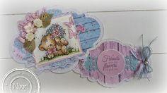 Jenine's Card Ideas: Bloghop Sennelier - Bear with Flowers
