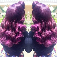 Vintage Purple Hair