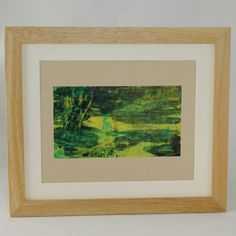 This lush, deep green painting with streaks and pools of bright yellow, makes me think of rich, verdant jungle, plants and is a great way to bring a touch of nature into your home.    Name: Jungle    Date: January 2016    Medium: Acrylic Paint on high quality artists paper    Paper Measures: 296 x 210 mm  Artwork Measures: 200 x 112 mm    Varnished with UV protective gloss varnish for additional protection.    This piece is completely unique, no prints have been made from it.    Please note…