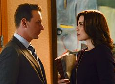 Josh Charles Says He'd ''Love to Return'' to Direct The Good Wife—Get the Scoop!  Julianna Margulies, Josh Charles, The Good Wife set